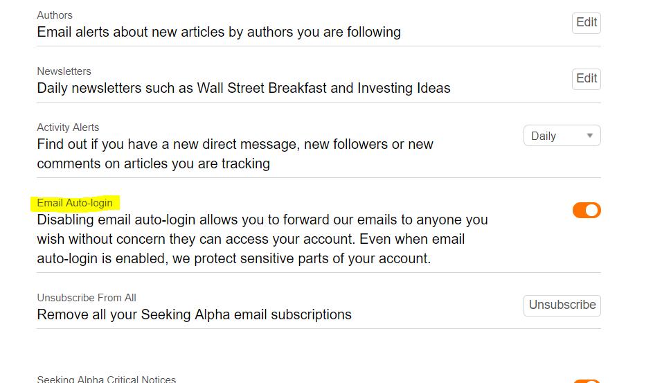 Seeking Alpha is now unreadable / Feedback Forum / Seeking Alpha